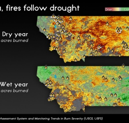 Climate Central: Fires